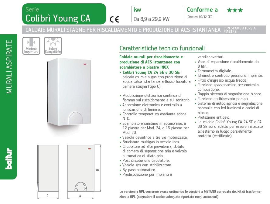COLIBRI CA 24 SE