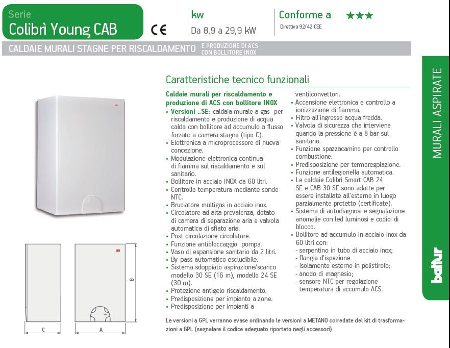 COLIBRI CAB 24 SE