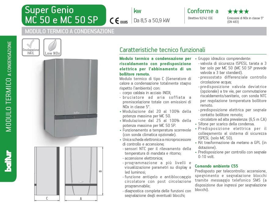 SUPER GENIO MC 50